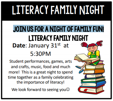 Literacy Family Night