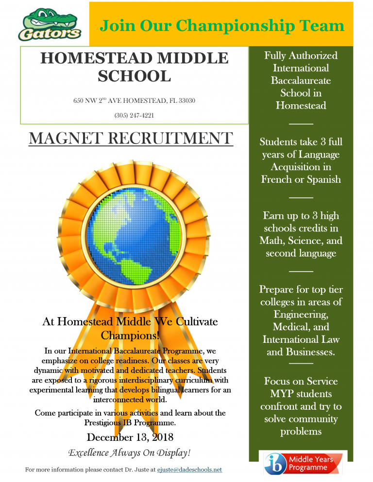 Magnet Recruitment Flyer