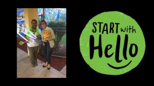 Student Services Start With Hello Campaign